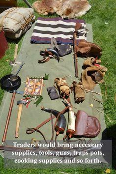 Mountain Men Rendezvous of the Bushcraft Kit, Bushcraft Camping, Mountain Man Rendezvous, Wilderness Survival, Survival Gear, Survival Equipment, Survival Quotes, Survival Skills, Earthquake Kits