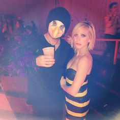 Calling All Couples! These Unique 2019 Halloween Costume Ideas Are Creative and Cute to Boot Hot Couple Costumes, Celebrity Couple Costumes, Celebrity Couples, Adult Costumes, Clever Costumes, Unique Costumes, Costume Ideas, Couples Halloween, Cool Halloween Costumes