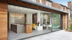 Wellfield Avenue - Projects - Edward Williams Architects Ltd House Extension Plans, House Extension Design, Extension Designs, Rear Extension, Bungalow Extensions, Garden Room Extensions, House Extensions, Orangery Extension Kitchen, Kitchen Diner Extension