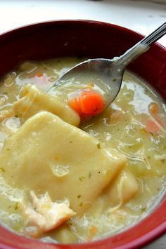 Chicken Pot Pie Soup with Dumplings Cooker Recipes, Crockpot Recipes, Soup Recipes, Chicken Recipes, Dinner Recipes, Recipies, Dinner Ideas, Supper Ideas, Turkey Recipes
