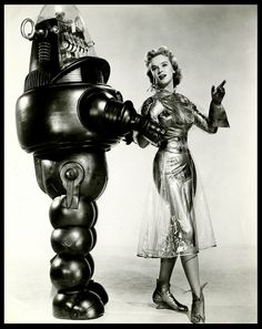 Anne Francis & Robby the Robot | Flickr - Photo Sharing!