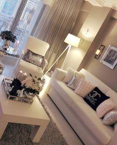 Lovely living room....pinterest • QveenKaylaaa