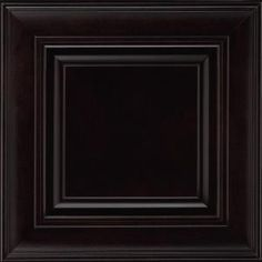14-9/16x14-1/2 In. Cabinet Door Sample In Savannah Maple Espresso