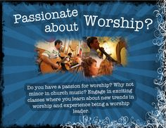 Trevor's a paid church worship leader writing songs for a contemporary audience.