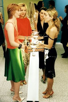 "#SATC ""Sex and the City"" (TV Series) Carrie, Miranda, Charlotte and Samantha"