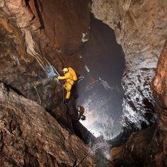 British team explore incredible Gouffre Berger Cave