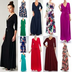 High-End Boutique Manufacturer Janette, Los Angeles. Our newest Janette style choice now in a long flowy sleeve with a stretch cuff bottom! or NEW short sleeve Surplice Maxi Dresses. SOLID or Printed Boho 70's Hippie Chic 3/4 Long Sleeve. | eBay!