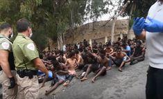 Ceuta: Mehr als 150 Migranten aus Afrika überwinden Grenzzaun Promotion, Sumo, Wrestling, Sports, Europe, Human Rights, Vatican, Morocco, Spanish