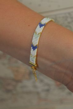 Miyuki Beads Homemade Bracelet. All the bracelets are handmade with Miyuki beads. The Miyuki beads are made in Japan and are from a very high quality. Miyukis 11/0 glass seed beads measure 2mm in length and 1.5mm in width. The bracelets are also perfect for elegant and original friendship-bracelets.  Please use your jewelry carefully as they are fragile. All the pieces are delivered in small colored bags.  If you are unhappy with your purchase, please contact us immediately. Please note that…