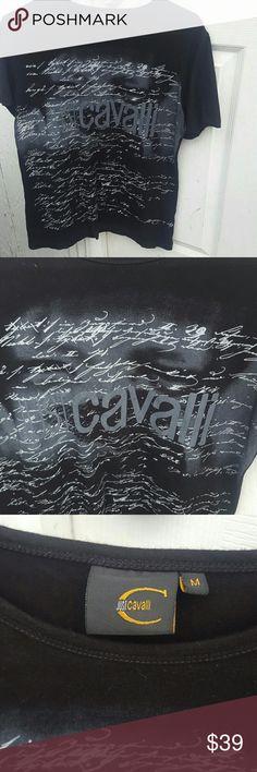Cavalli Mens Shirt Roberto Cavalli designer shirt Just Cavalli Shirts Tees - Short Sleeve