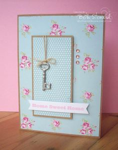 This is cute....from Beth's Little Card Blog                                                                                                                                                     More