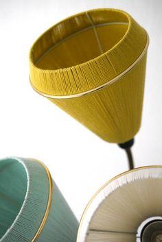 mellaogmalla: DIY lampeskjermer