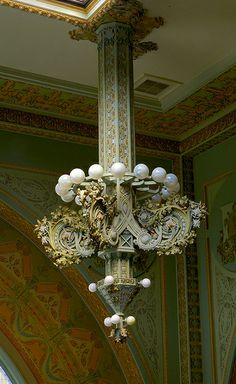 National Farmers' Bank One of four electroliers in the Louis Sullivan/George…