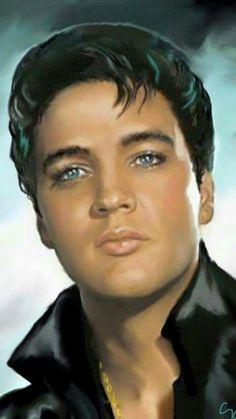 Diamond Painting Elvis Presley--oh those eyes Bilder Von Elvis Presley, Elvis Presley Pictures, Viejo Hollywood, Lisa Marie Presley, Portraits, Norma Jeane, John Wayne, American Singers, Movie Stars