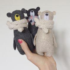 Три маленьких медведей