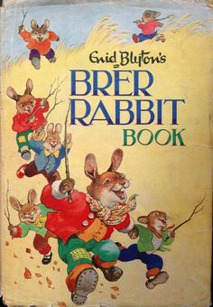 The first Brer Rabbit Book I ever got, probably around 1970. The little furry fellah got me at hello...looks like I am in esteemed company too if you follow the link...Ps. Cover photo is of my own slightly battered copy!