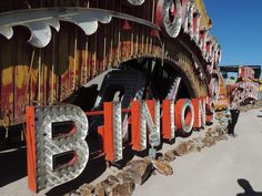 The Neon Boneyard, Las Vegas, Binion's