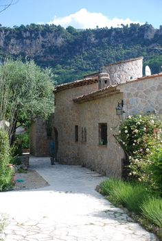 My old stone cottage in the hills of Grasse