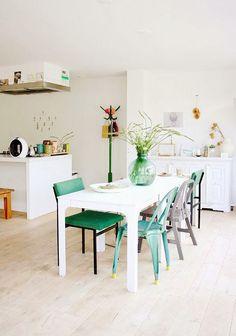 Miércoles que saben a menta   Elige #Tolix, la #silla +picante, refrescante y azucarada  #decoración #interiorismo