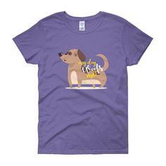 My Dog Woofs Me Women's Short Sleeve T-Shirt