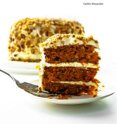 Carrot cake by Apeanutbutterfiend.deviantart.com on @deviantART