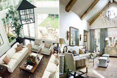 Vaulted Ceiling | Living Spaces: Dering Hall | High Ceilings