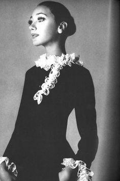 Marisa Berenson by Richard Avedon for US Vogue, February 1968