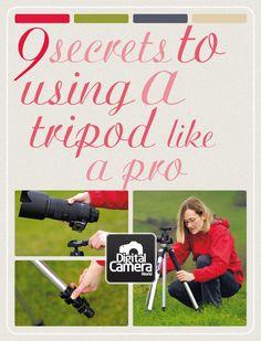 9 secrets to using a tripod like a pro