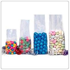 """100x Super Clear Flat Cello/Cellophane Treat Bag 6x8 inch(1.2mil) """" by Ameba Concept. $9.95. Safe for food products. Pack of 100 clear cello bags.. High Quality bags, we promise!. Super clear see through bags. 1.2 mil thick and though enough to handle heavy candies.. Flat 6"""" x 8"""" inch. These clear cello treat bags are perfect for candies, cookies, gifts, and much more. Tie it with a cute ribbon and personalize it with tag. Perfect for treats to take home for kids..."""