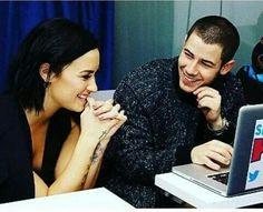 Demi Lovato and Nick Jonas ♥