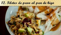 Filetes de pavo al pan de higo >> http://www.recetascomidas.com/recetas-accion-gracias