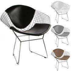 Bertoia Diamond Chair. Chrome Bertoia Diamond Chair.