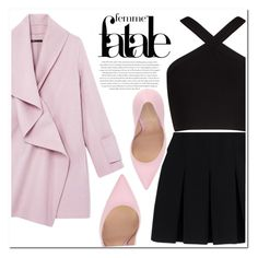 """Untitled #1126"" by samha ❤ liked on Polyvore featuring Vince, Alexander Wang, BCBGMAXAZRIA, Envi and Gianvito Rossi"
