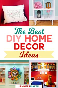 DIY Home Decor is a fun way to make your house a home, and so much more affordable than just buying it outright! I just love making things for my home. There's just something so satisfying about DIY home decor. Sure, I could load up my cart at Target (and I have before), but being...Read More »