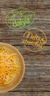 Daiya cheese!  Dairy free, soy free, and safe on the MSPI diet.  AND, tastes pretty good!