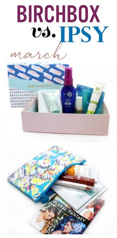 Birchbox vs Ipsy - March 2015. Who will come out on top?