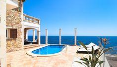 """Villa """"Castillo del Mar"""" Cala Mendia im Osten von Mallorca für 8 Personen zu…"""