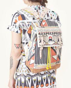 henrik vibskov x ykra backpack | #mohawkgeneralstore #henrikvibskov