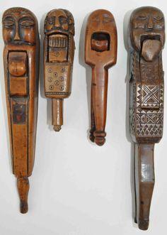 Four 17th/18th century nutcrackers