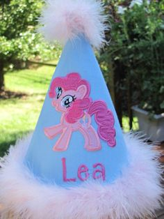 Custom Boutique  Birthday Hat, themes made to order. $22.00, via Etsy.