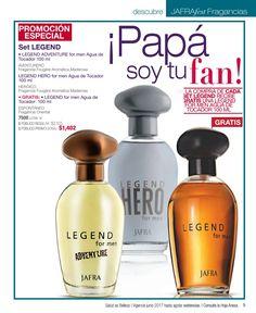Perfumes para hombre de Jafra. Dia del padre México