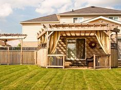 Build the backyard of your dreams with McCoy's Building Supply. Shop www.mccoys.com for lumber, decking, tools and more!
