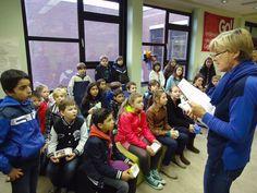 Gisteren kwamen de leerlingen van onze basisschool Parkschool Ieperman op bezoek : http://www.khwilrijk.be/wordpress/parkschool-ieperman-op-bezoek/
