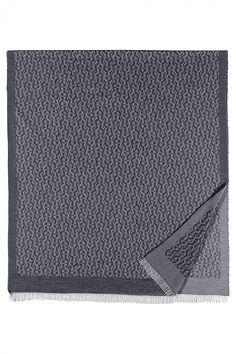 Aigner Schal Casual Marineblau | SAILERstyle Silk Shawl, Leather