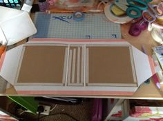 Tracy Plays Nice: Mini album tutorial x love the step by step instruction with photos