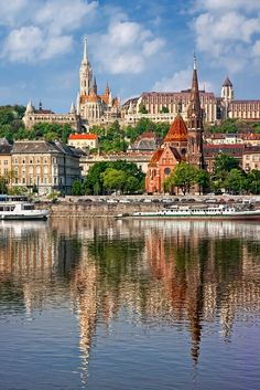 The Danube winds past some of the world's most beautiful cities, including Budapest, Bratislava, Vienna, Passau and Regensburg. Places Around The World, Around The Worlds, Places To Travel, Places To Go, Wachau Valley, Danube River Cruise, Viking River, Hungary Travel, Cruise Destinations