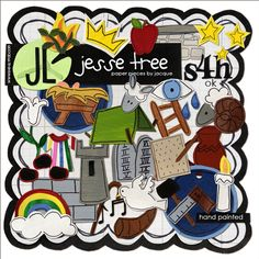 Jesse Tree by Jacque Larsen @ the Lilypad -- Jesus' family tree! Christmas Crafts For Kids, Christmas Activities, Christmas Traditions, Holiday Fun, Christmas Time, Christmas Ornaments, Christmas Morning, Kids Crafts, Christmas Open House