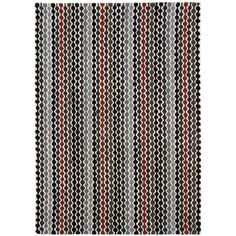 Gandia Blasco Hand Tufted Kenia Rug 200x300 (€1.780) ❤ liked on Polyvore featuring home, rugs, black, geometric rug, handmade wool rugs, textured rug, handmade rugs and hand made wool rugs