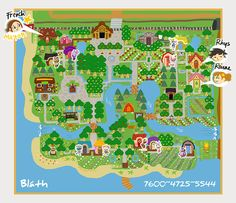 -Exploring Bláth- and other towns