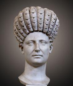 https://flic.kr/p/8gvCHV   Portrait of a Roman Lady   Chiaramonti Gallery, Vatican. XI 4 (696) H 0.53.5. Trajanic period.